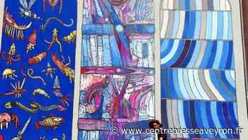 Rodez : une oeuvre monumentale de l'artiste Bault trône désormais à l'entrée de la rue Combarel - Centre Presse Aveyron
