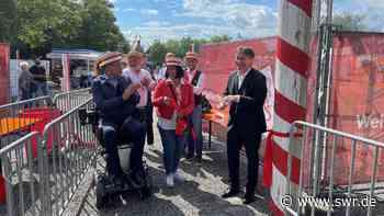 Welfenfest in Weingarten als Corona-Modellprojekt eröffnet - SWR
