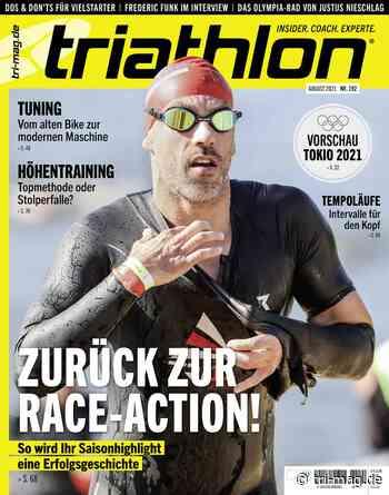 triathlon 192: August 2021 | tri-mag.de - tri-mag.de