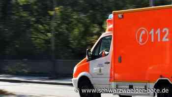 Nahe Bräunlingen - Zwei Schwerverletzte bei Unfall auf B 31 - Schwarzwälder Bote