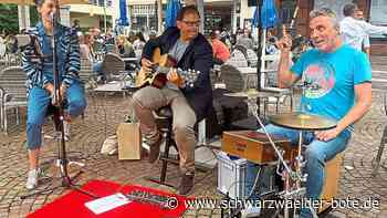 Livemusik in Donaueschingen - Samstagsspektakel bringt neues Konzert-Format in die Stadt - Schwarzwälder Bote