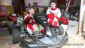 Adrian Merz aus Donaueschingen - 11-Jähriger ist ein erfolgreicher Go-Kart-Fahrer - Schwarzwälder Bote