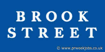 Brook Street: Corporate PR Account Manager (Property & Financial Services)