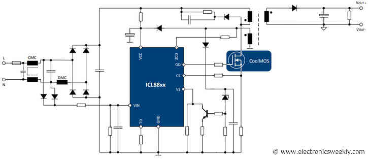 Ad-dc chip drives LED lighting at 125W