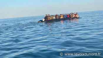 La SNSM de Berck vient en aide à 70 migrants partis de la plage de Merlimont - La Voix du Nord