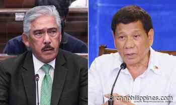 Sotto to Duterte: Illegal drugs, abuse are 'two different animals' - CNN Philippines