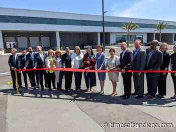 New Airline Support Building Opens for Bulky Cargo, Live Animals and Storage - Times of San Diego
