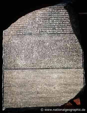 Stein von Rosette – Schlüssel zum Alten Ägypten - National Geographic Deutschland