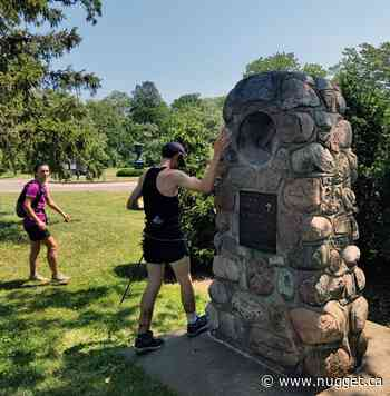 Sundridge runner sets record on Bruce Trail - The North Bay Nugget