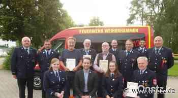 Feuerwehr Weiherhammer hilft im Lockdown Senioren beim Einkauf - Onetz.de