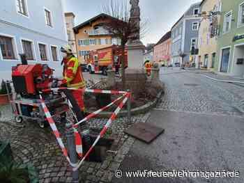 Historische Zisterne bei Großbrand angezapft - Feuerwehr-Magazin