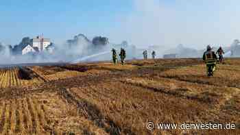 Bochum: Riesige Rauchwolke! Feuerwehr muss mit Großaufgebot ran - Der Westen