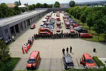 Dresdner Feuerwehr hilft in Rheinland-Pfalz - Sächsische.de