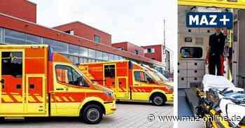 Potsdam: Sechs neue Rettungsfahrzeuge für die Feuerwehr - Märkische Allgemeine Zeitung