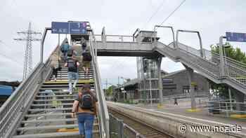 Feuerwehr befreit Jugendliche aus Aufzug am Bahnsteig in Papenburg - NOZ