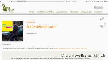 FDP Wallenhorst engagiert sich als Klimabotschafter - Wallenhorster.de