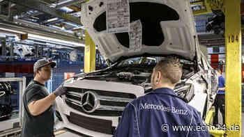 Produktionsstopp in Sindelfingen: Steht Daimler vor einem Langzeit-Problem? - echo24.de