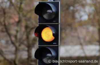 Verkehrsunfall wegen missachteter Ampel in Homburg – Blaulichtreport-Saarland.de - Blaulichtreport-Saarland