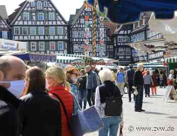 Inzidenz steigt: Kommt die Maskenpflicht auf dem Schorndorfer Wochenmarkt zurück? - Schorndorf - Zeitungsverlag Waiblingen