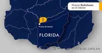 ANTEL habilitó radiobase en Puntas de Maciel para mejorar conectividad - El Acontecer Diario