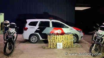 200 tabletes de maconha são apreendidos em caminhão parado em Assis - Assiscity - Notícias de Assis SP e região hoje