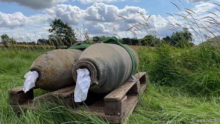 Bad Oldesloe: Experten haben alle vier Fliegerbomben entschärft - NDR.de