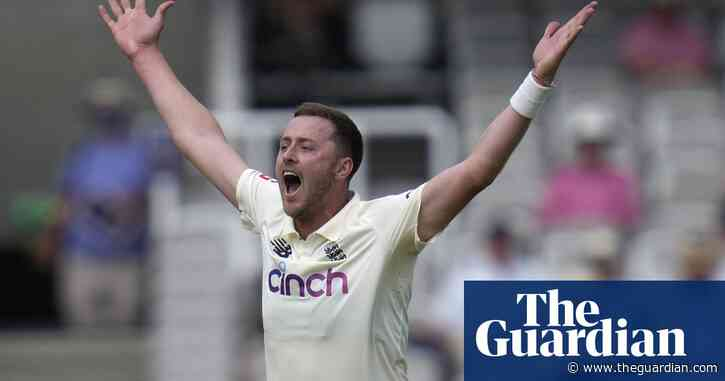 Ollie Robinson makes swift return to England's Test squad to face India