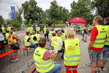 Teigwaren Riesa: Mitarbeiter treten in den Streik - Sächsische.de