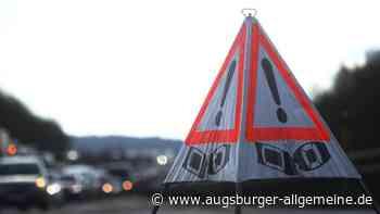 Auffahrunfall auf der A8 an der Anschlussstelle Neusäß - Augsburger Allgemeine