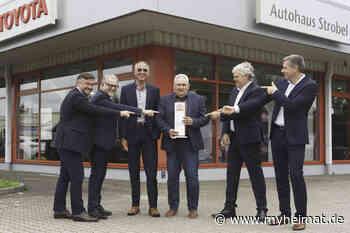 Autohaus Strobel: Ältester Toyota Händler Deutschlands feiert 50-jähriges Jubiläum - Gersthofen - myheimat.de - myheimat.de