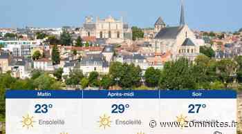 Météo Poitiers: Prévisions du mercredi 21 juillet 2021 - 20minutes.fr