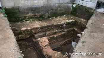 A Poitiers, les fouilles archéologiques du palais des comtes du Poitou font une pause - France Bleu