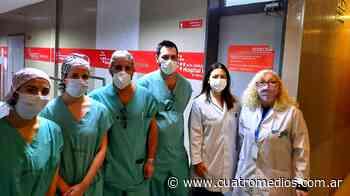 En el Día del Amigo los hospitales El Cruce de Florencio Varela y Garrahan realizaron un trasplante renal de padre a hijo - Cuatro Medios