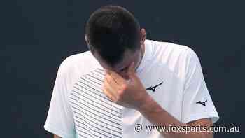 Another bagel served as Tomic's horror run of form continues - Fox Sports