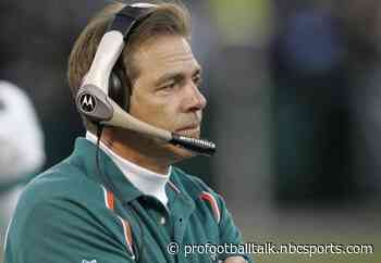 """When Dolphins didn't land Drew Brees, Nick Saban decided, """"I'm getting out of here"""""""
