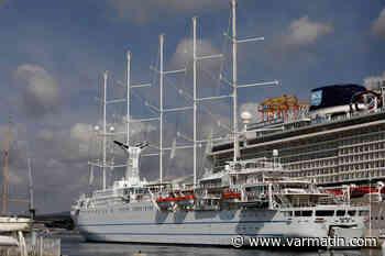 La fameux cinq mâts du Club Med bientôt visible à Bandol et Sanary - Var-Matin