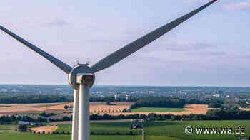 Neue Riesenwindräder in Hamm-Freiske: Erste Anlage komplett - Video - Westfälischer Anzeiger