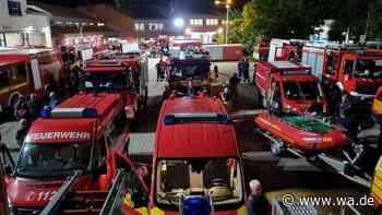 Arbeit und Gänsehaut: Feuerwehrleute aus Hamm im Hochwassergebiet Eschweiler - wa.de