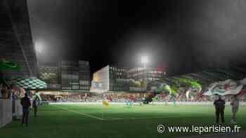 Saint-Ouen : coup d'envoi du chantier du futur stade Bauer - Le Parisien