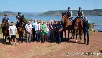 Clermont-l'Hérault : les cavaliers de la Garde républicaine veillent sur le Salagou - Midi Libre