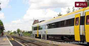 Folgen der Flut: Gestörter Bahnbetrieb in Riedlingen - Schwäbische