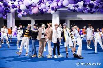 BTS garde la 1ère place du Billboard Hot 100 avec une autre chanson, «Permission to Dance» | AGENCE DE PRESSE YONHAP - Agence de presse Yonhap