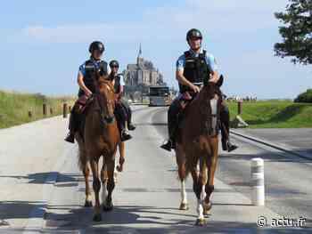 La Garde républicaine est de retour au Mont-Saint-Michel pour l'été - actu.fr