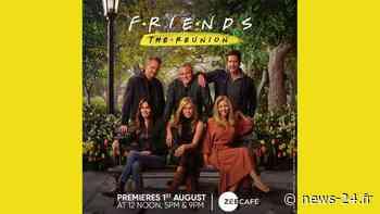 Regardez la première télévisée indienne de FRIENDS: The Reunion sur Zee Café, &flix et &PrivéHD   Nouvelles télévisées - News 24