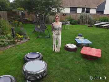 Yvelines. Près de Rambouillet, Fanny crée des objets et des meubles à partir de... pneus ! - actu.fr