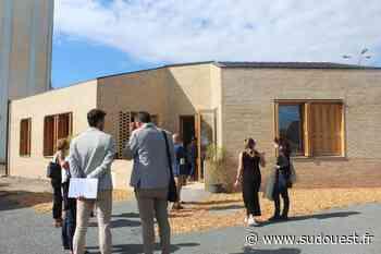 À Biganos, la « Maison BigRe », un bâtiment pionnier, a été inaugurée - Sud Ouest