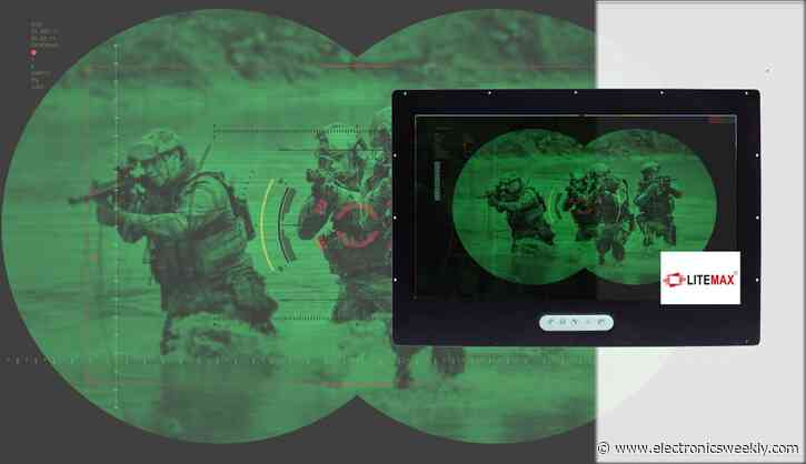 Display Technology meets SWaP with Litemax night vision system displays