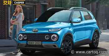 Hyundai Casper rendered ahead of launch: Will rival Maruti Suzuki Ignis - CarToq.com