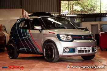 This Customized Maruti Suzuki Ignis With Only Design Changes Looks Like a Rally Car - News18