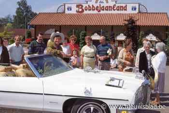 Legendarische auto van Bobbejaan duikt even op in pretpark
